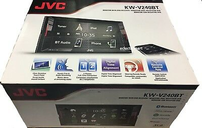JVC KW-V240BT 2-DIN AM/FM/DVD Rcvr, iPhone, Android, Spotify, Bluetooth
