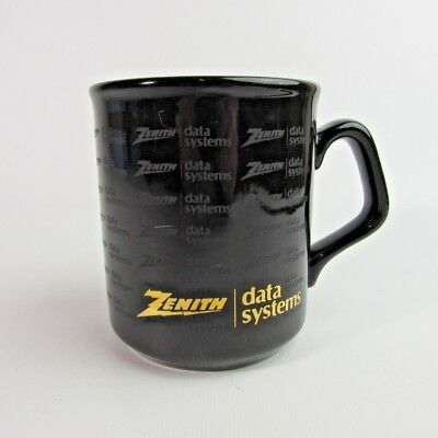 Vtg Zenith Data Systems Coffee Cup Mug Advertising Computer, Made in England