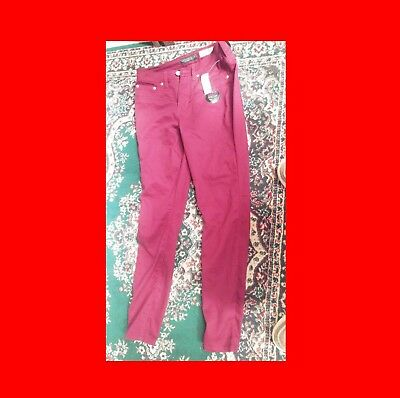 New Nwt Aeropostale Jeggings Size 4 Regular/normal Amaranth(Reddish) Purple Jean