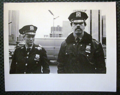 1980 LAWRENCE FRANK City Hall New York Police Dept Original Photo