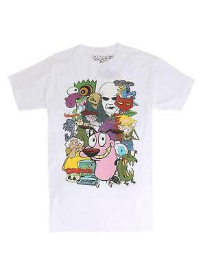Courage The Cowardly Dog Characters Cartoon Network Tee Mens T Shirt