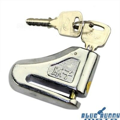 Motorcycle Anti-Theft Security Disc Brake Lock Pin 7mm Diameter Universal Fits