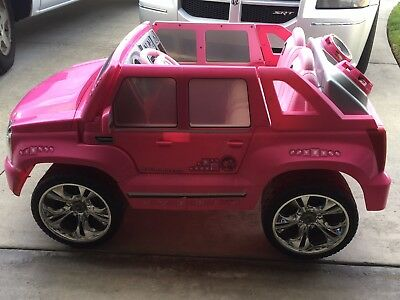 Power Wheels Cadillac Escalade >> Power Wheels Barbie Cadillac Escalade 100 00 Picclick