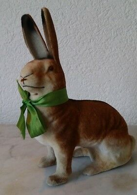 alter Hase Osterhase Pappemache Ostern easterbunny candycontainer ca. 22 cm