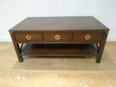 Laura Ashley Balmoral Coffee Table In Chestnut