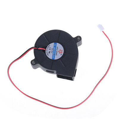 5V 0.1-0.3A Black Brushless DC Cooling Blower Fan 5015S 50x15mmHG