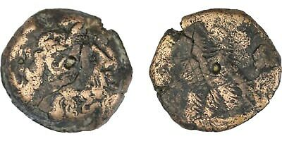 bronze ancient greek coin of the Ptolemaic kings of Egypt, ancient Ptolemy coin