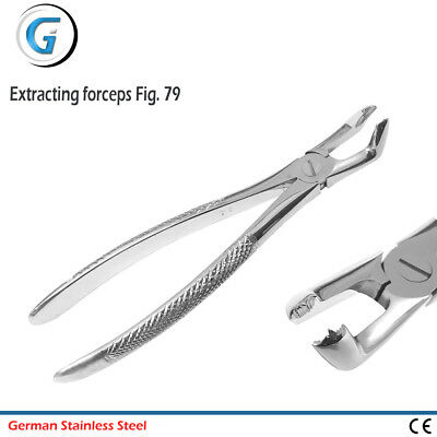 Tooth Extracting Forceps Dental Lower Molar Extraction Instruments Fig. 79 New
