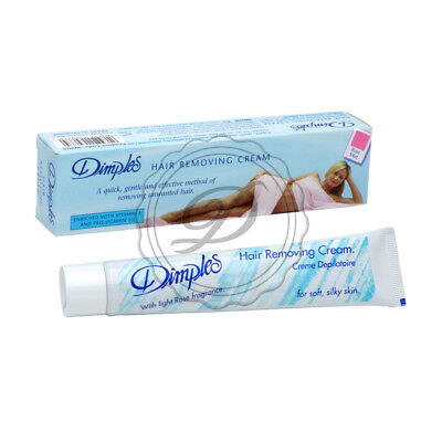 Dimples Hair Removal Cream 50ml - Silky Soft Legs Armpits Body Smooth Gentle