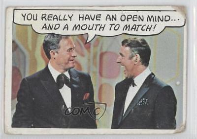 1968 Topps Rowan & Martin's Laugh-In #29 You really have an open mind Card 2z5