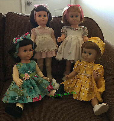 ***VINTAGE LOT of CHATTY CATHY DOLLS***- SET OF 4 BEAUTIFUL DOLLS!