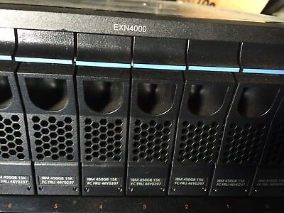 "NETAPP IBM EXN4000 Storage Array 14 Bay 450GB 15k 3.5"" FC HDD 3.5"""