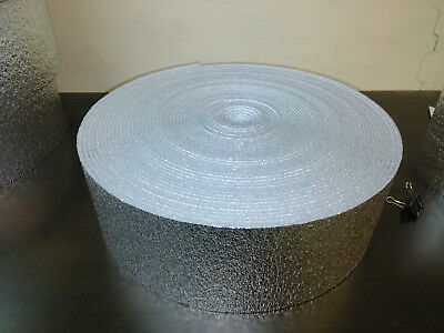 6 X 25 Reflective Foam Core Insulation HVAC Faucet Pipe Air Duct Wrap Roll  1/4