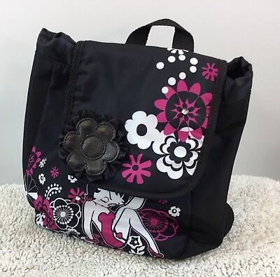 New Betty Boop Mini Bookbag Fab Starpoint 2010 Adjustable Strap Drawstring