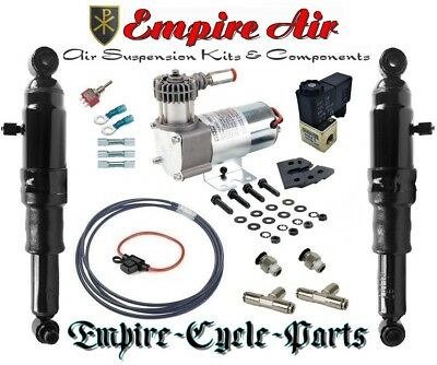 Harley Bagger Touring Air Ride Suspension Kit 94-2018 GREAT QUALITY 1YR WARRANTY