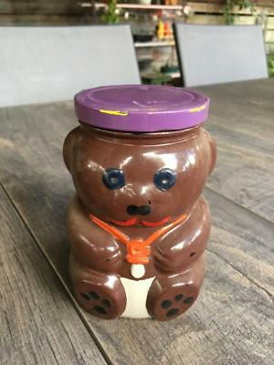VINTAGE KRAFT BEAR JAR / RARE COLLECTABLE See if you can find it /1988 / BUY NOW