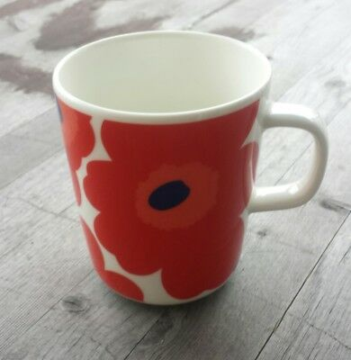 Marimekko Finland Unikko Mug Red Poppies - New