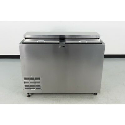 """Used Perlick BC48 48"""" Stainless Steel Bottle Cooler"""