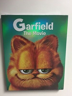 Garfield the Movie (Blu-ray/DVD, 2015, 2-Disc Set) NEW w/Icon slipcover