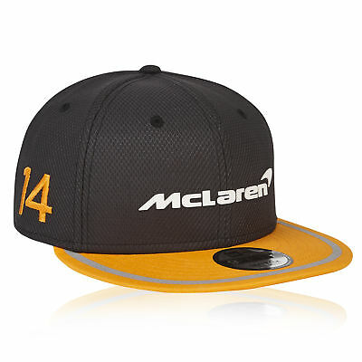 McLaren Official 2018 Fernando Alonso Cap Hat Headwear New Era 9FIFTY UPF 50+