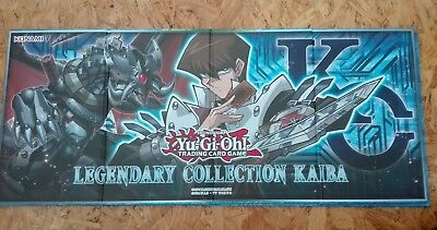Yugioh Legendary Collection Mat Hardcover Playmat Dual Sided