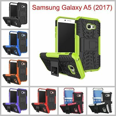 Samsung Galaxy A5 (2017) Heavy Duty Armor Phone Case Cover with Stand