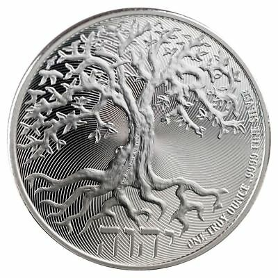 2018 Tree of Life 1 oz Silver Coin | Direct From New Zealand Mint Tube
