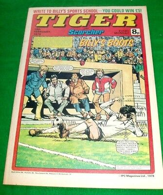 Tiger With Stunning Crystal Palace Centrefold Poster & Millwall Poster 18/2/1978