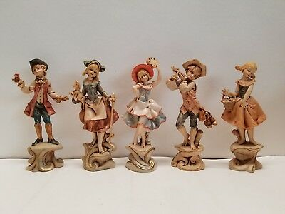 Vintage Fontanini Depose Italy band city people lot of 5 275-280