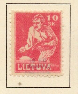 Lithuania 1921 Early Issue Fine Mint Hinged 10s. 232036