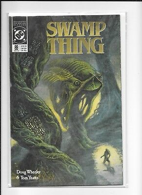 Swamp Thing #89 Decent(7.0) Dc