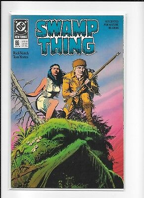 Swamp Thing #86 Higher Grade (8.5) Dc