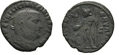 Ancient Rome Licinius I AD 308-324 THESSALONICA JUPITER EAGLE VICTORY