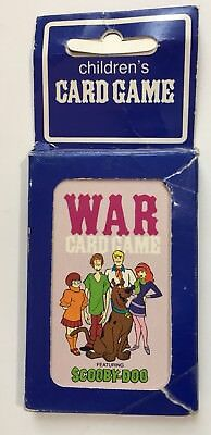 Vintage 1979 Scooby Doo Hoyle War Childrens Playing Card Game