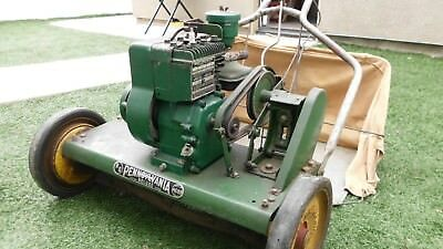 Antique 1958  Pennsylvania Gas Push Mower/ Briggs & Stratton Engine/ Nice Cond.!