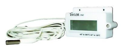 Taylor Precision Products Digital Panel Mount Thermometer (-40- to...