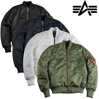 the best attitude c788f 7b43d Alpha Industries Men's Winter Jacket MA-1 VF PM TT MEN BOMBER S-3XL