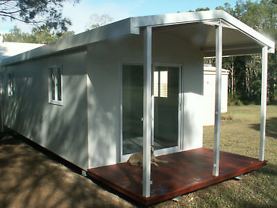 9.8x3.3m Cabin Donga Portable Building 1 Bed Granny Flat
