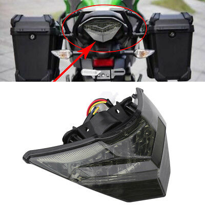 Tail Light Turn Signals Brake LED Light For 2013-2015 KAWASAKI Ninja 250 300 New