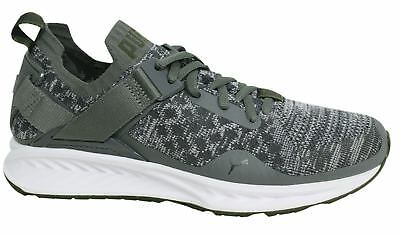 7263452ab3d7 PUMA IGNITE EVOKNIT Lo Quiet Shade Olive Men Running Shoes Trainers ...