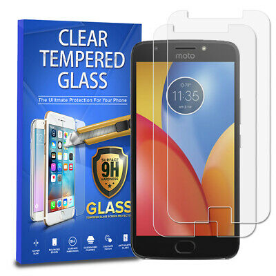 For Motorola Moto E4 Plus [2-PACK] Tempered Glass Screen Protector
