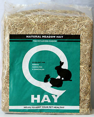Natural Meadow Hay Pet Bedding Rabbit Guinea Pig Chinchillas Small Pets Bed