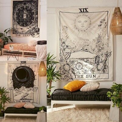 Mysterious Tapestry Wall Hanging Mandala Boho Wall Tapestry for Home Decor