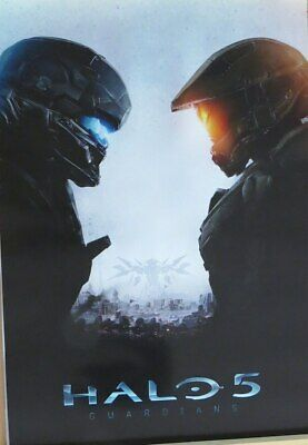 Halo 5: Guardians  : Game Cover- Poster-Laminated Available-91cm x 61cm-Brand...