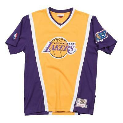 Mitchell & Ness Los Angeles Lakers 1996-97 Authentic Shooting Shirt Gelb