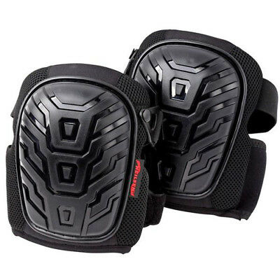 Heavy Duty Gel Knee Pad Pads Kneepads Twin Strap Large Cup One Size
