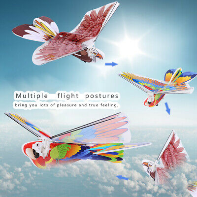 RC Flying Bird LED ABS 2.4GHz Drone Control Pigeon Flying Bird Children Gift