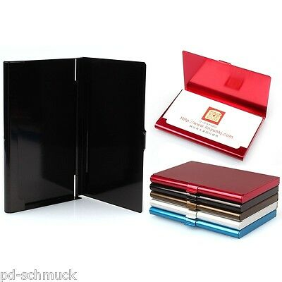 Business Card Holder Box Portable Personal Portable Card Cases