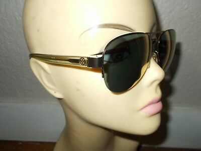 cbbddd82f677 TORY BURCH TY6048 3146R5 Gold/Green Frame Gold Mirror Lenses Sunglasses