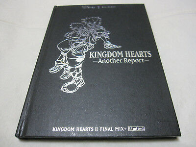 7-14 Days to USA. PS2 Kingdom Hearts II 2 Final Mix Limited Books Another Report